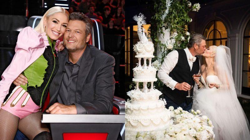 Blake Shelton, Gwen Stefani finally tie the knot