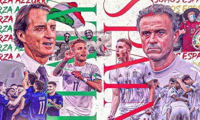 Italy Spain EURO 2020 semifinal