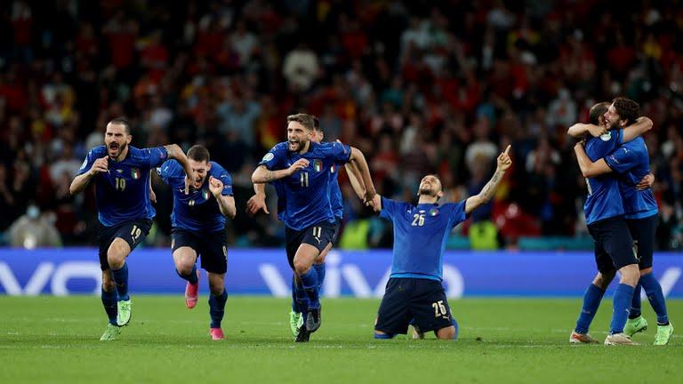 Italy Spain EURO 2020