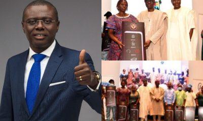 Governor of Lagos state, car gift, Sanwo-olu,
