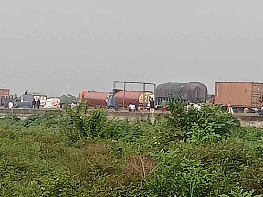 Lagos-Ibadan expressway traffic