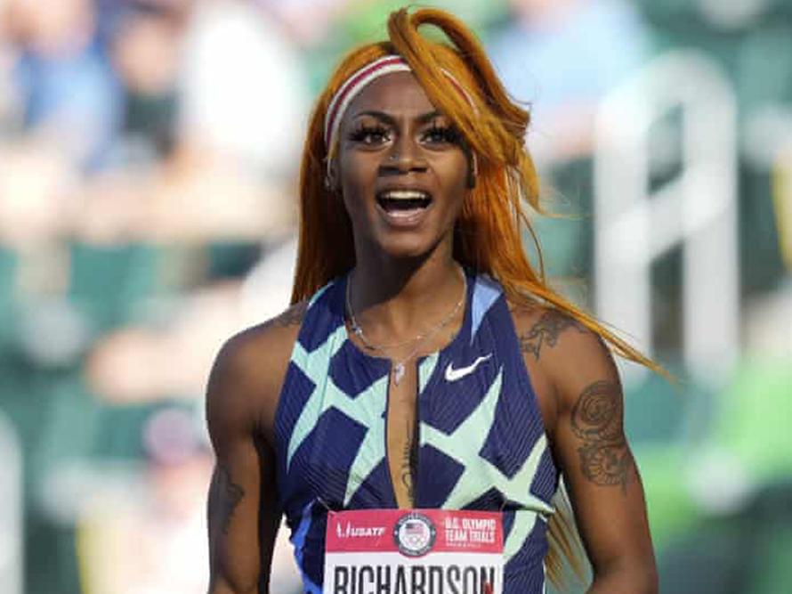Sha'Carri Richardson out of 2020 Olympics after testing positive for Marijuana
