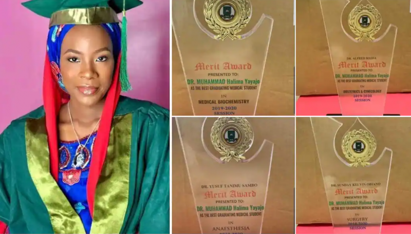 Lady breaks record, bags overall best medical student in Gombe varsity