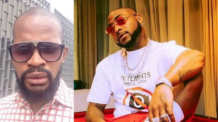 Sagging, drinking while mourning friend, height of mockery - Maduagwu drags Davido