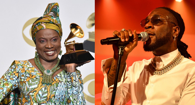 VIDEO: He owes no one an apology, Angelique Kidjo defends Burna Boy's supposed 'attitude'
