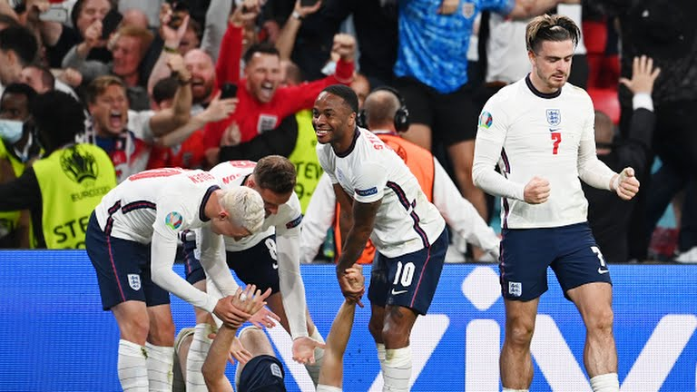 England Denmark EURO 2020 final