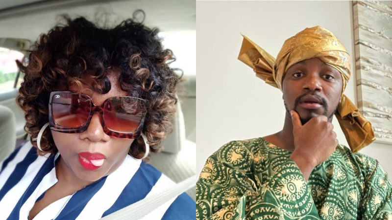 Mama Tobi reacts to lady who condemned cross-dressing comedians