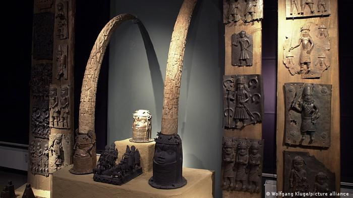 JUST IN: FG demands return of 1,130 Benin artefacts looted from Germany