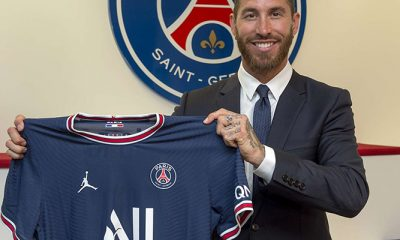 Sergio Ramos joins PSG
