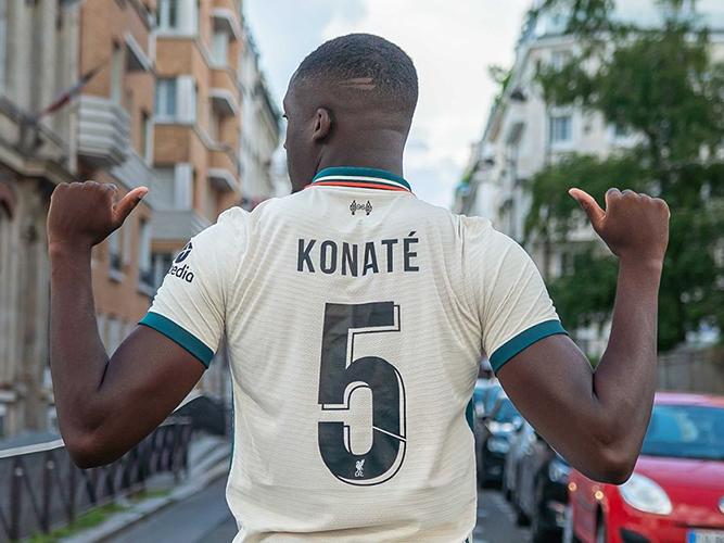Ibrahima Konate gets Liverpool squad number