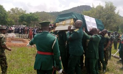 Army commander injured by Boho Haram buried in tears