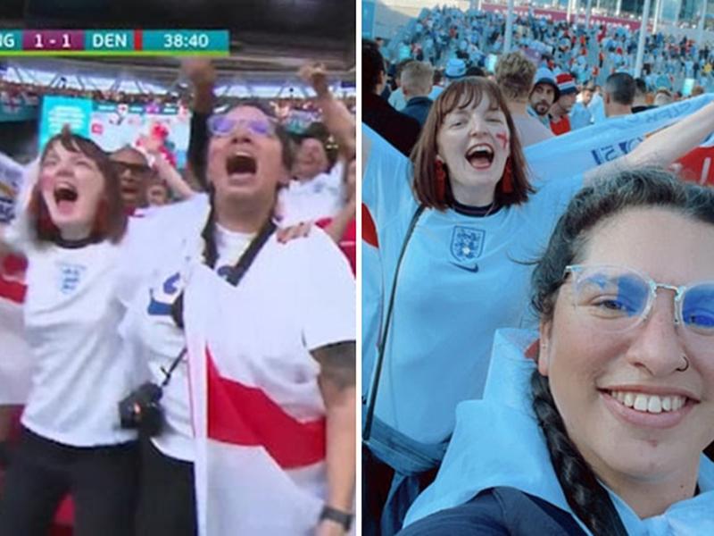 Nina Farooqi, Lady sacked for watching England vs Denmark EURO 2020 game
