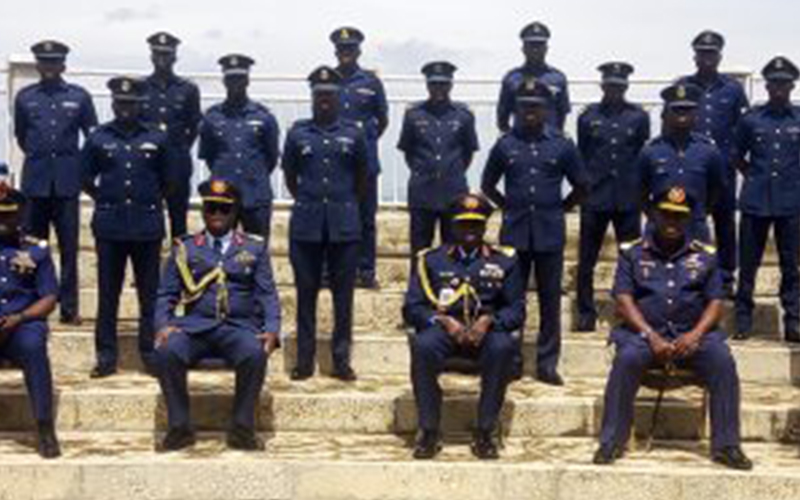 Officers graduate from NAF institute