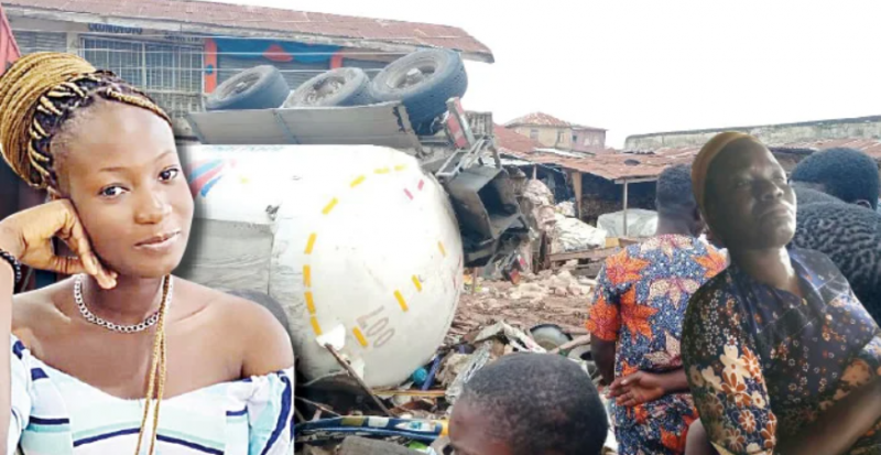 My daughter had premonition she would die - Mother of student crushed by tanker at Ibadan market