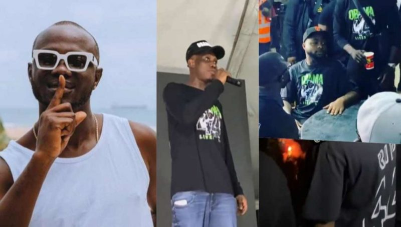 Obama DMW: Davido Zlatan Ibile others attend candlelight service