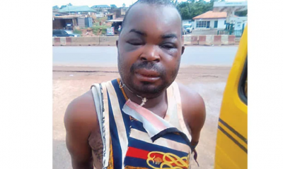 Denis Nwambam, the Okada rider who stabbed tricyclist to death in Ogun State over right of way
