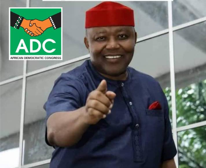 Dr Akachukwu Nwankpo, the candidate of the African Democratic Congress