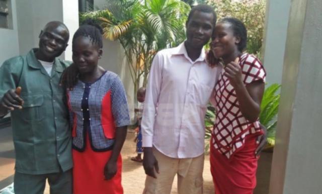Kenyan men trade wives to settle dispute
