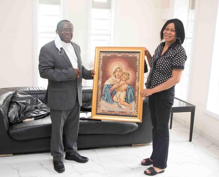 Odumakin: Kukah pays condolence to late Afenifere spokesman's widow in Lagos