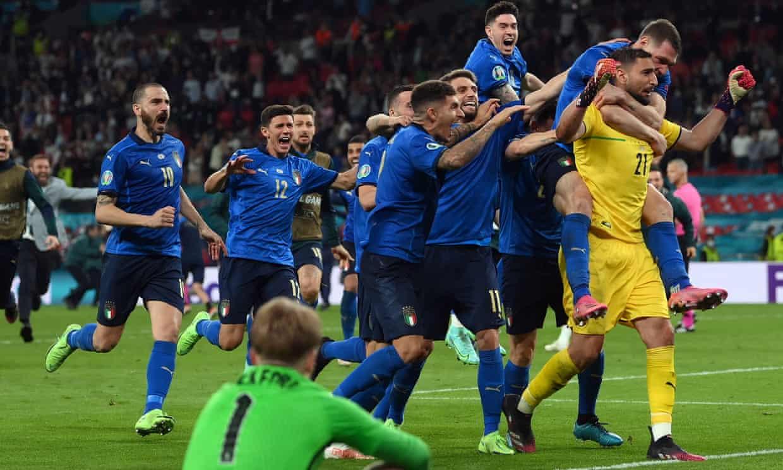Italy beat England to win EURO 2020