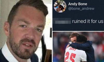 Savills suspends worker Andrew Bone for racial abuse on ENgland players