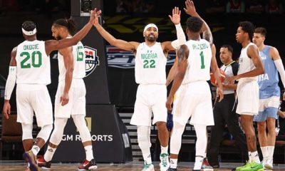 Nigeria's D'Tigers rank fourth on FIBA power rankings ahead of Olympics