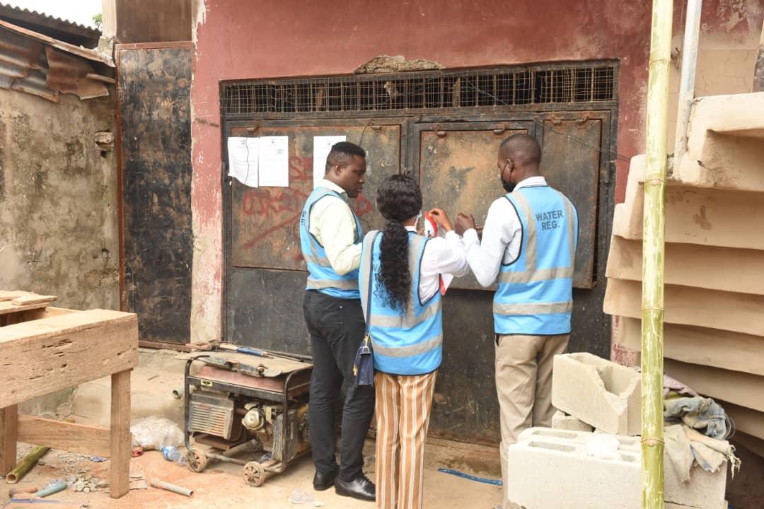 PHOTOS: Lagos seals 30 water factories over sharp practices, poor hygiene