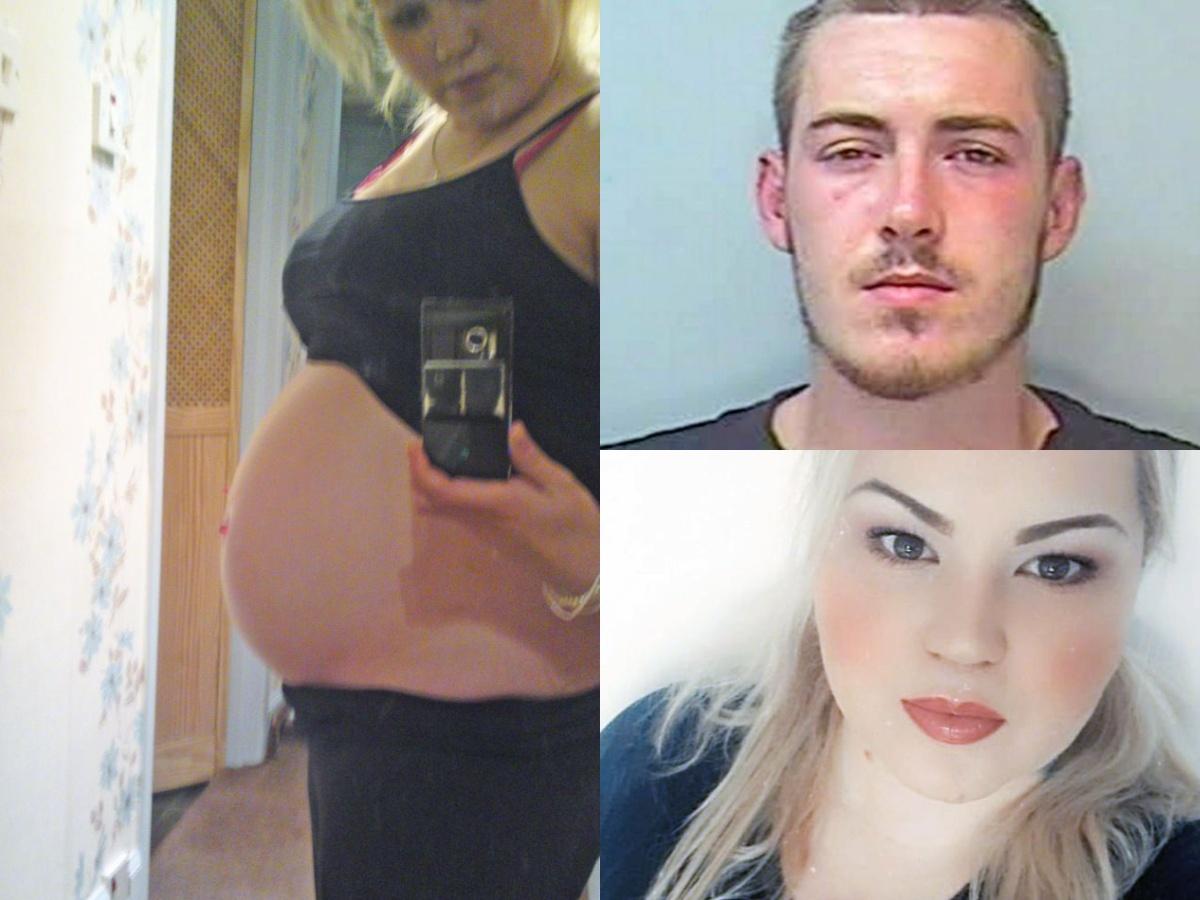 Pregnant mum raped by boyfriend Samantha Smith and Samuel Phillips