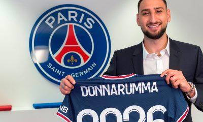 Donnarumma joins PSG