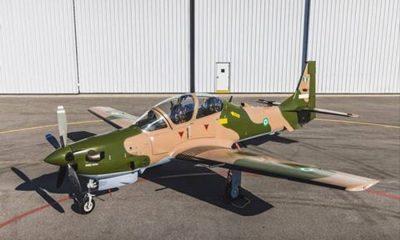 A-29 Super Tucano aircraft