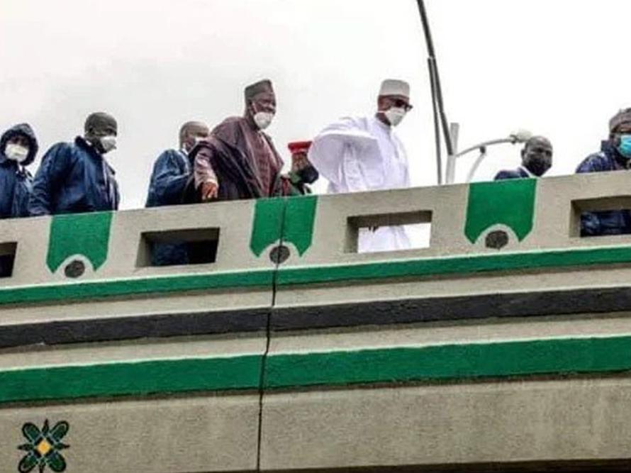 Buhari inaugurates Kano interchange