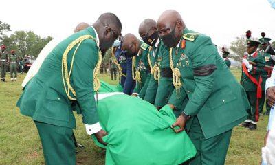 Nigerian Army buries genral killed by bandits