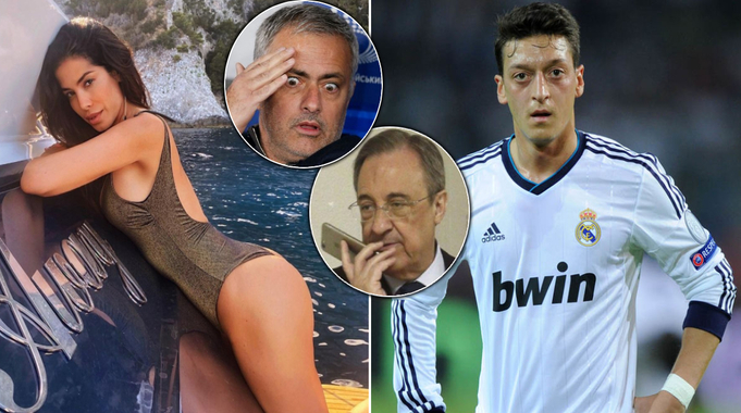 Mourinho tells Ozil his girlfriend slept with everyone at Inter, Milan - Perez audio leaks