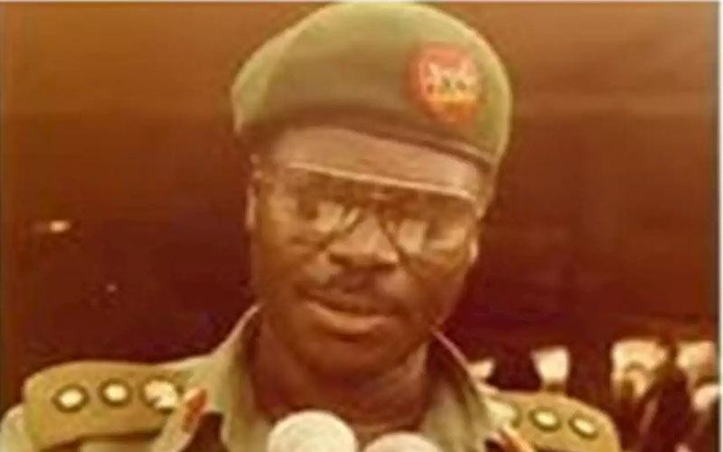 The former late Military Administrator of Jigawa State, Brigadier General Ibrahim Aliyu