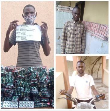 NDLEA nabs Anambra drug kingpin with 548,000 Tramadol tablets