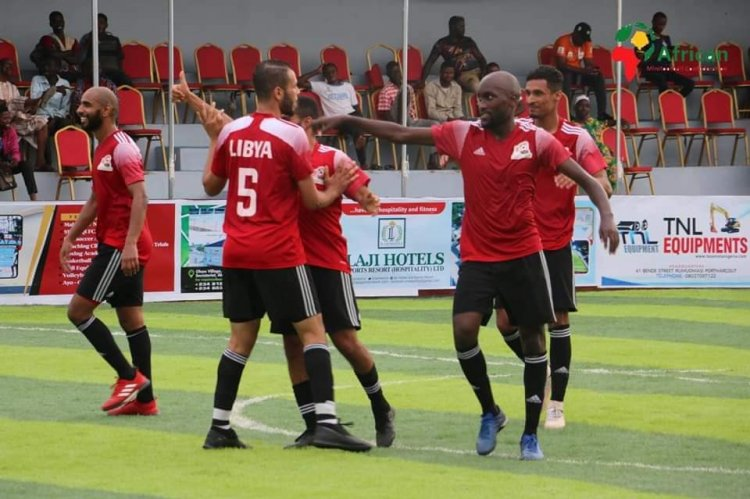 Egypt beat Libya to win 2021 African Minifootball Cup