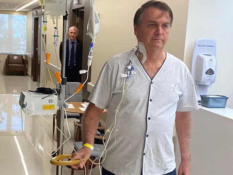 Jai Bolsonaro discharged from hospital