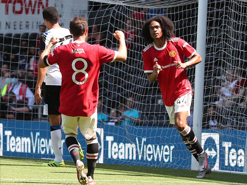 Man Utd beat Derby
