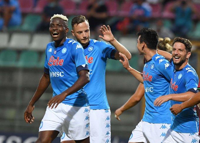 Osimhen's brace sinks Bayern Munich in Napoli's 3-0 victory
