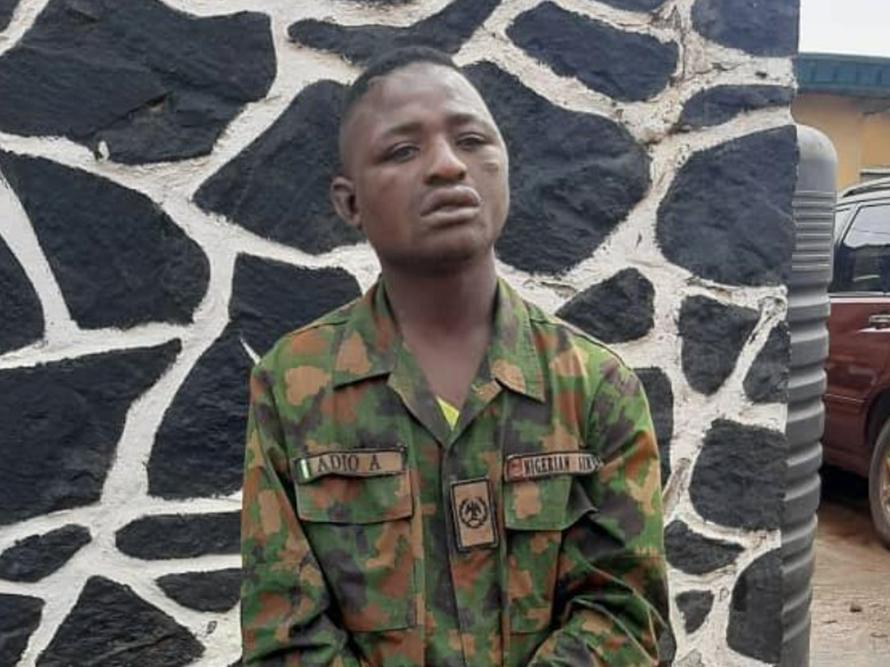 police arrested suspected kidnapper of soldier
