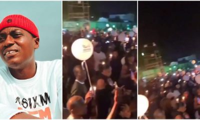 Watch Sound Sultan's candlelight procession held in Lagos