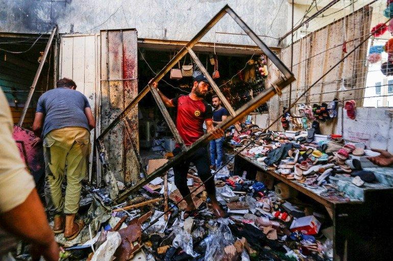 Iraq market bombing