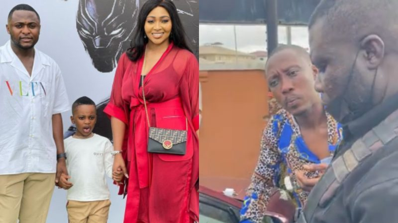 VIDEO: Ubi Franklin nabs alleged serial thief at son's birthday party