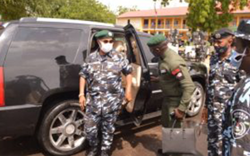 IGP celebrates Sallah with policemen