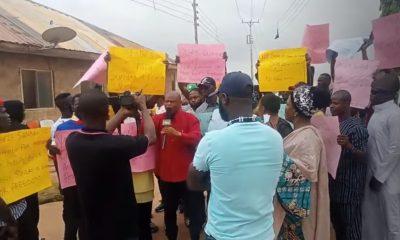 JUST IN: Demonstration rocks Ibadan over Igboho's arrest in Cotonou