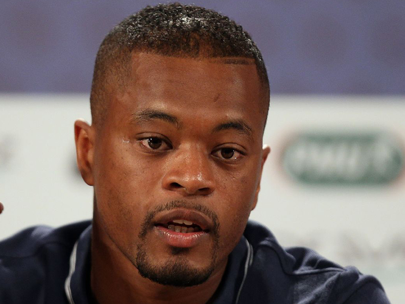 Evra reacts to racism on social media