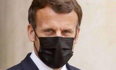 Macron arrives Tokyo