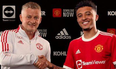 Man Utd sign Jadon Sancho