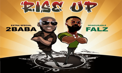 2Baba features Falz in new song 'Rise Up'