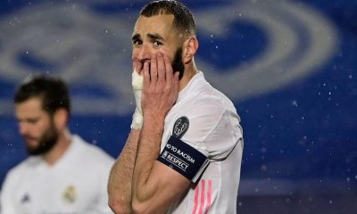 Real Madrid's Benzema tests positive for COVID-19